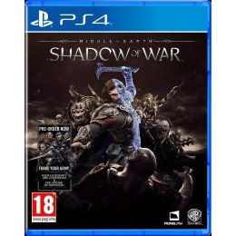 Coperta MIDDLE EARTH SHADOW OF WAR - PS4