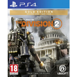 Coperta THE DIVISION 2 GOLD EDITION - PS4