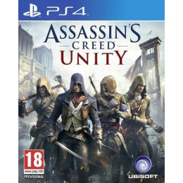 Coperta ASSASSINS CREED UNITY - PS4