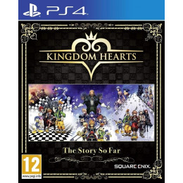 Coperta KINGDOM HEARTS THE STORY SO FAR - PS4