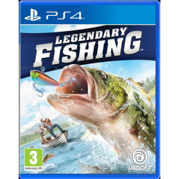Coperta LEGENDARY FISHING - PS4