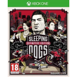 Coperta SLEEPING DOGS DEFINITIVE LIMITED EDITION - XBOX ONE