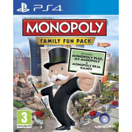 Coperta MONOPOLY FAMILY FUN PACK - PS4