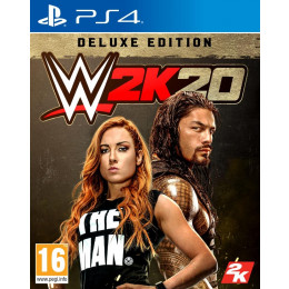 Coperta WWE 2K20 DELUXE EDITION - PS4
