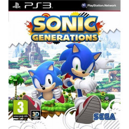 Coperta SONIC GENERATIONS ESSENTIALS - PS3