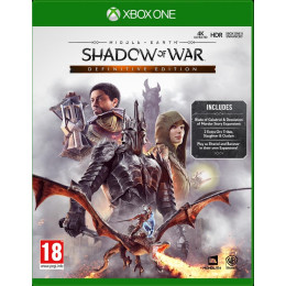 Coperta MIDDLE EARTH SHADOW OF WAR DEFINITIVE EDITION - XBOX ONE