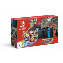 Coperta NINTENDO SWITCH CONSOLE (WITH NEON RED & NEON BLUE JOY-CONS) HAD & MARIO KART 8 DELUXE - GDG