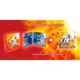 Coperta POKEMON SUN STEELBOOK - 3DS