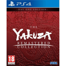 Coperta THE YAKUZA REMASTERED D1 EDITION - PS4