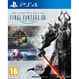 Coperta FINAL FANTASY XIV ONLINE COMPLETE EDITION - PS4