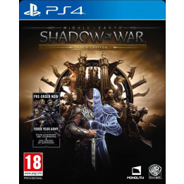 Coperta MIDDLE EARTH SHADOW OF WAR GOLD EDITION - PS4