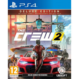 Coperta THE CREW 2 DELUXE EDITION - PS4
