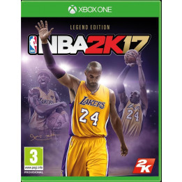 Coperta NBA 2K17 LEGEND EDITION - XBOX ONE