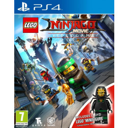 Coperta LEGO NINJAGO MOVIE TOY EDITION - PS4