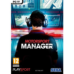 Coperta MOTORSPORT MANAGER - PC