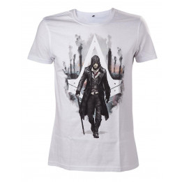ASSASSINS CREED SYNDICATE JACOB FRYE WHITE TSHIRT S