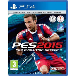 Coperta PRO EVOLUTION SOCCER 2015 D1 EDITION - PS4