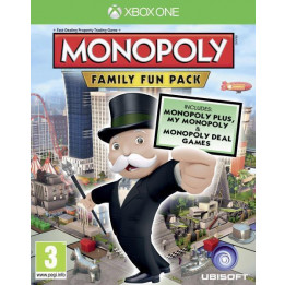 Coperta MONOPOLY FAMILY FUN PACK - XBOX ONE