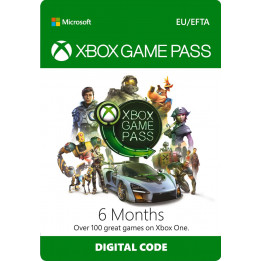 Coperta XBOX GAME PASS 6 MONTHS - XBOX ONE (MICROSOFT CODE)