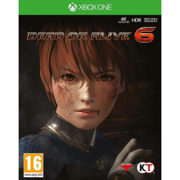 Coperta DEAD OR ALIVE 6 - XBOX ONE