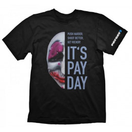 Coperta PAYDAY 2 HOUSTON MASK TSHIRT XL