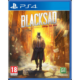 Coperta BLACKSAD LIMITED EDITION - PS4