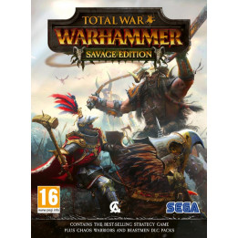 Coperta TOTAL WAR WARHAMMER SAVAGE EDITION - PC