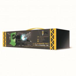 Coperta STEELPLAY - PRO HD STREAMERS 4 IN 1 PACK - MIC+CAM+SCREEN+TRIPODS