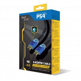 Coperta STEELPLAY - 4K 2.0 HDMI HIGH SPEED ULTRA HD LED CABLE (PS4)