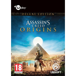 Coperta ASSASSINS CREED ORIGINS DELUXE EDITION - PC (UPLAY CODE)