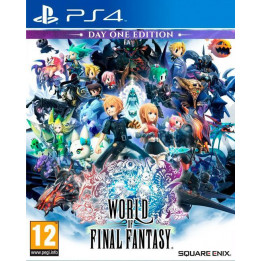 Coperta WORLD OF FINAL FANTASY LIMITED EDITION - PS4