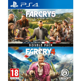 Coperta COMPILATION FAR CRY 4 & FAR CRY 5 - PS4