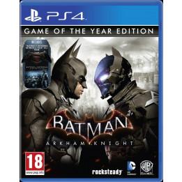 Coperta BATMAN ARKHAM KNIGHT GOTY - PS4