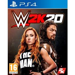 Coperta WWE 2K20 - PS4