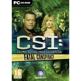 Coperta CSI 6 FATAL CONSPIRACY - PC