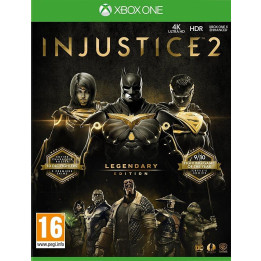 Coperta INJUSTICE 2 LEGENDARY EDITION - XBOX ONE