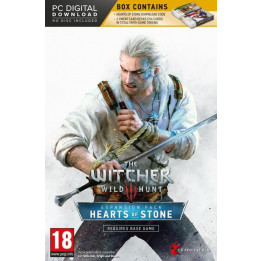 Coperta THE WITCHER 3 WILD HUNT HEARTS OF STONE (EXPANSION PACK) - PC