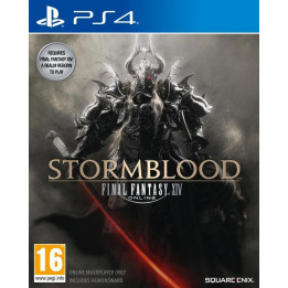 Coperta FINAL FANTASY XIV ONLINE STORMBLOOD - PS4