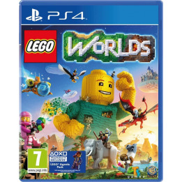 Coperta LEGO WORLDS - PS4