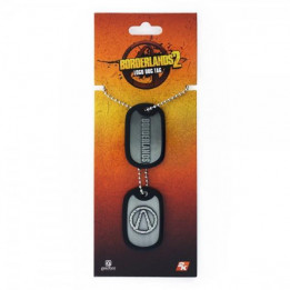 Coperta BORDERLANDS LOGO DOG TAG