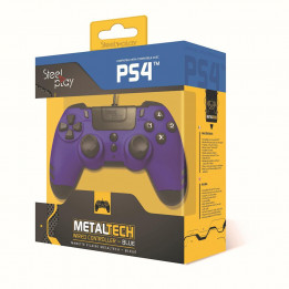 Coperta STEELPLAY - METALTECH - WIRED CONTROLLER - SAPPHIRE BLUE