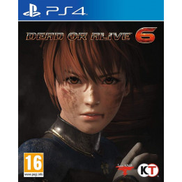 Coperta DEAD OR ALIVE 6 - PS4
