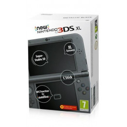 Coperta NEW 3DS XL CONSOLE METALLIC BLACK - GDG