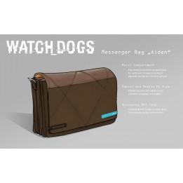 Coperta WATCH DOGS HACKER NFC MESSENGER BAG