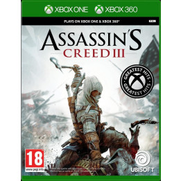 Coperta ASSASSINS CREED 3 - XBOX360 (XBOX ONE COMPATIBLE)