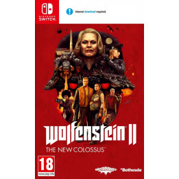 Coperta WOLFENSTEIN 2 THE NEW COLOSSUS - SW