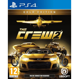 Coperta THE CREW 2 GOLD EDITION - PS4