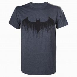 BATMAN ARKHAM KNIGHT BAT GREY TSHIRT XL
