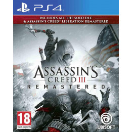 Coperta ASSASSINS CREED 3 & ASSASSINS CREED LIBERATION REMASTER - PS4