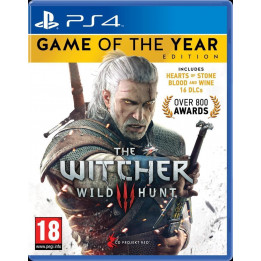 Coperta THE WITCHER 3 WILD HUNT GOTY EDITION - PS4